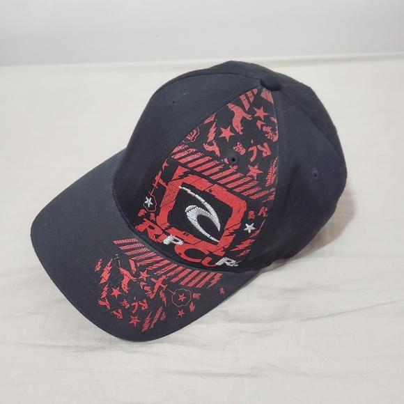 Rip Curl Red & Black Signature Cap Hat